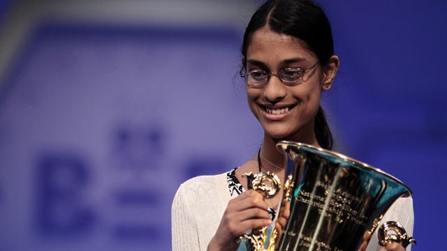 Sukanya Roy Wins Spelling Bee champion