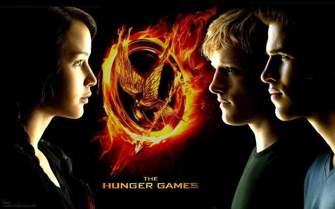 The Hunger Games Now Playing !!!