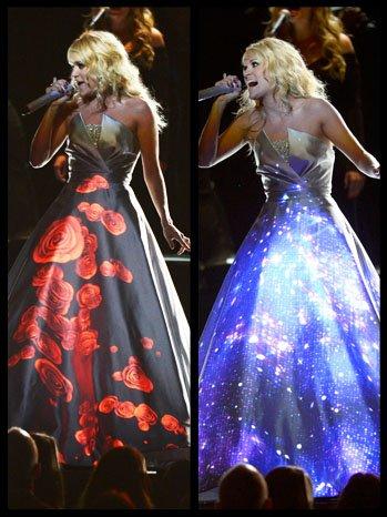 Carrie Underhood Dress 2 13 2013