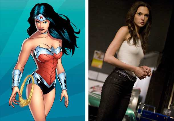Gal Gadot the new Wonder Woman