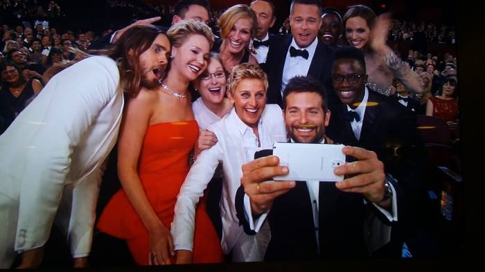 Oscar Selfie 2  2014