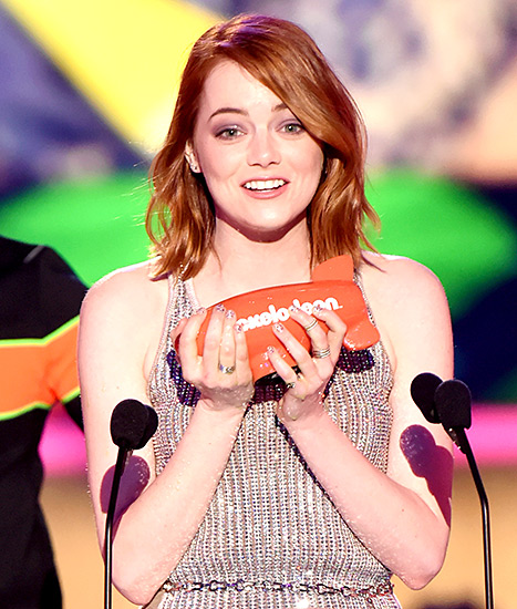 Emma Stone Kids Choice Awards 2015