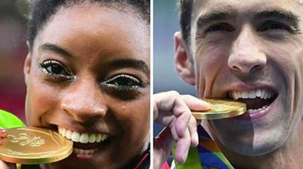 biting medals