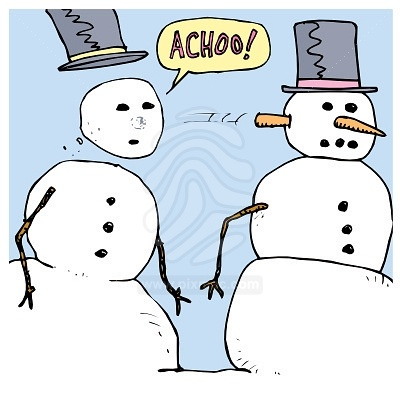 sneezing-snowmen