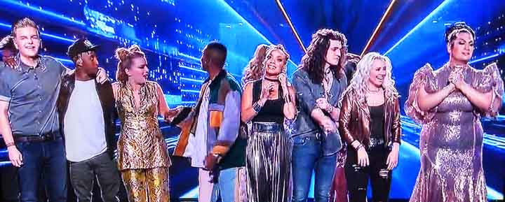 American Idol top ten 2a