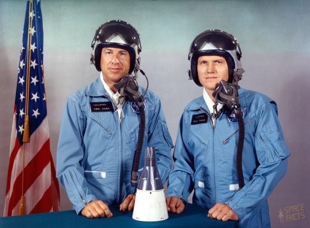 James Loevl and Frank Borman