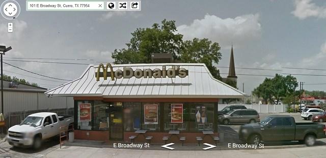 Haunted McDonalds in Cureo Texas